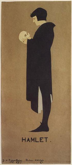 Beggarstaffs Hamlet Poster