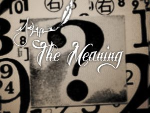 The Meaning [Album Art]