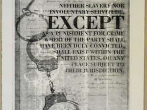 13th Amendment [Printmaking]