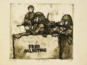 Free Palestine [Printmaking]