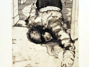 Murder of Fred Hampton [Etching]