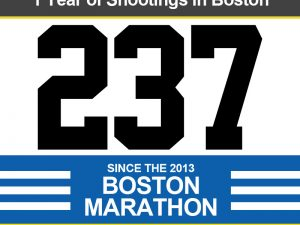 Shootings Since the Boston Marathon Final Report [Infographic, Video]