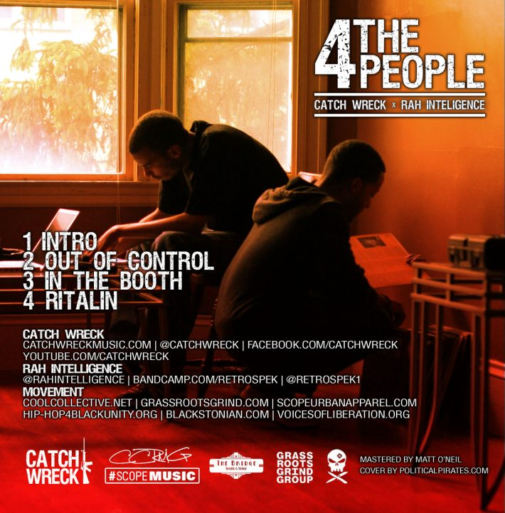 Catch Wreck - 4 the People - 4 tha people - back