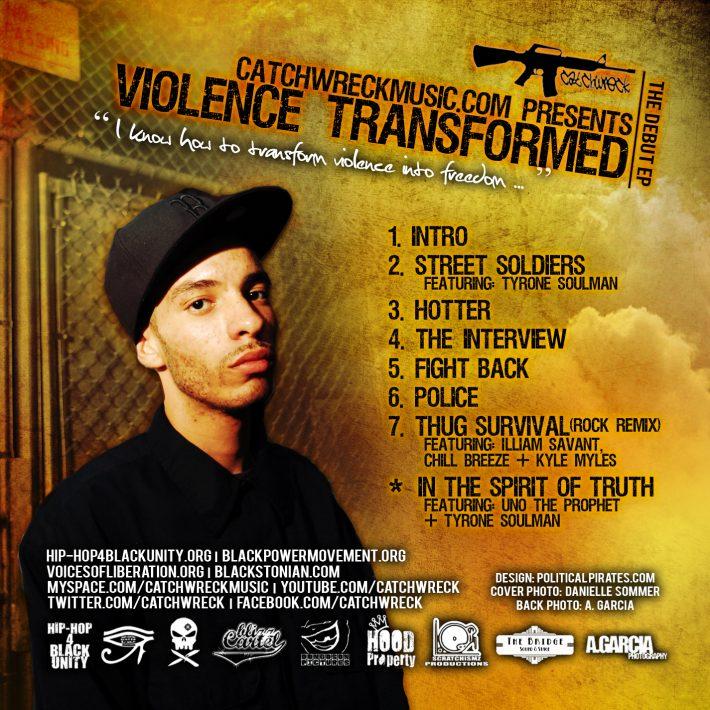 Violence Transformed-Back