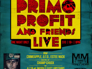 Primo Profit and Friends Live